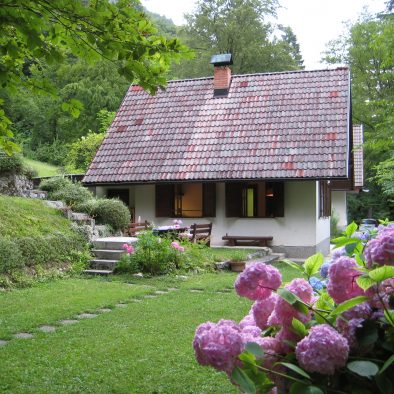 house with private garden